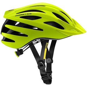 Mavic Crossride SL Elite Fietshelm Heren, safety yellow/black